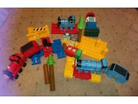 Thomas the tank and Friends mega bloks set