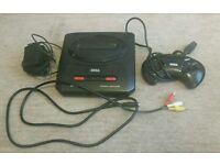 Sega Megadrive II + Games