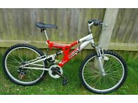 "MOUNTAIN BIKE "" STORMIN ACTIVE"" 24"" wheels"