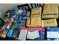 Shop stock job lot stationary