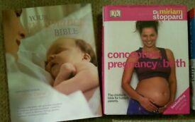 Pregnancy books, raising toddler books? Pregnancy cookbooks, book bundle