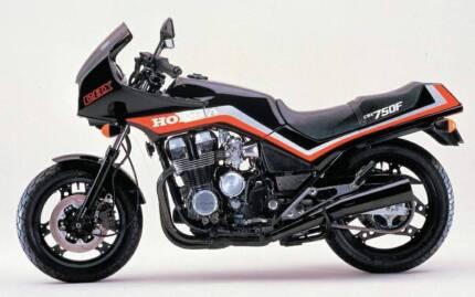Honda CBX750 Donvale Manningham Area Preview