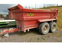 Herbst 14t dumpers trailer