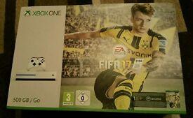 BRAND NEW! Xbox One S - White PLUS Fifa 17