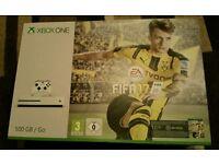 BRAND NEW SEALED Xbox One S Bundle - White. PLUS Fifa 17, Forza Horizon 3, Mafia 3.