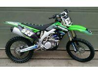 2011 kawasaki kxf 450 efi superb condition kx450f kxf450. 250