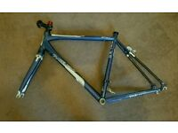 For sale is a Kinesis Racelight GranFondo frame and forks.