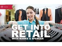 Get Into Retail with Marks & Spencers and The Prince's Trust