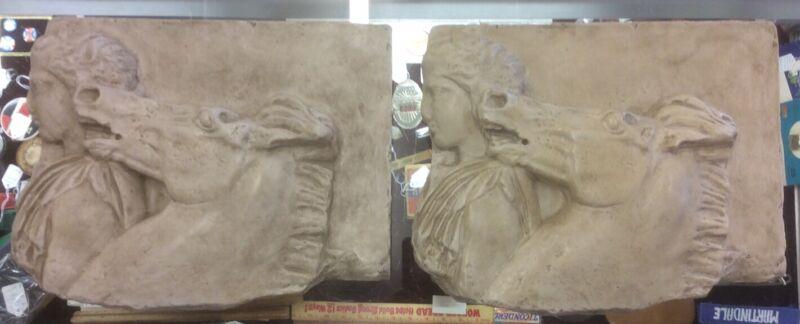 Parthenon Frieze Fragments (Lot Of 2)