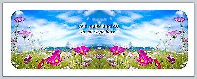 30 Personalized Return Address Labels Flower Buy 3 Get 1 Free Bo 568