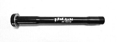 MT ZOOM ROCK SHOX AUMENTO Ultralight front ATTRAVERSO L'ASSE 15mm x 110mm NERO - Ultralight Ruota Nera