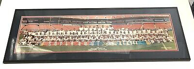 - Denver Broncos Super Bowl XXXII 1998 Team Photo Matted Framed 40x14 John Elway