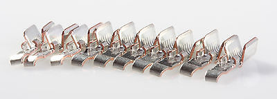 Anderson Powerpole 45 Amp Contacts Silver Plated 10 Pack Power Pole 261g3-lpbk