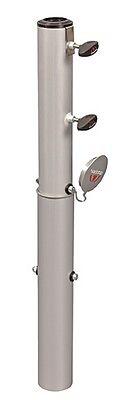 Doppler Bodenhülse Bodenanker für Sonnenschirme 32 - 60 mm Schirmständer Alu