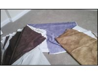 Assorted Colour Fabric Backdrops