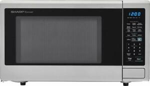 New/Open Box Sharp 1.1 Cu Ft (SCM1442CS) You Pay! $85 CAD / Reg. $140 USD