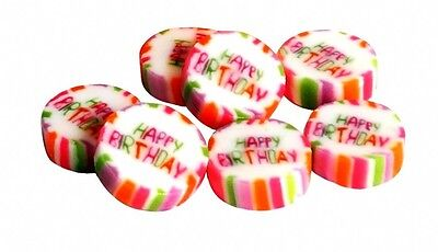 ♥♥ 50 Happy Birthday Bonbons ♥ Echte Handarbeit ♥ Vegan ♥ Geburtstags Bonbons ♥♥