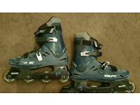 For sale is a pair of the Bauer rollerskates.