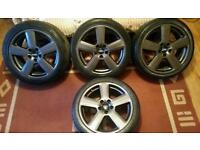"18"" Genuine Audi RS6 S Line Alloys Fits A3 A4 A6 S4 VW Golf Touran Seat Leon Cupra Octavia"