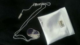 D&G Mens Necklace