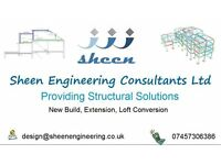 Structural Engineer for Loft and House Extension Structural Calculations