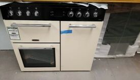 NEW LEISUREA La Carte 90 AL90F230C Dual Fuel Range Cooker - Cream £799.99