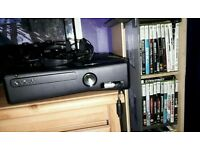 Xbox 360 30 games+ eccesseries