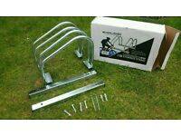 Free stand bike rack for 2 bikes. Brand new never used