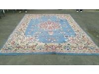 Large 12'x9' Indian Oriental Rug Hand Made