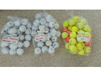 Golf Balls various bags see pictures