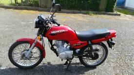 Honda CG 125 12 months MoT