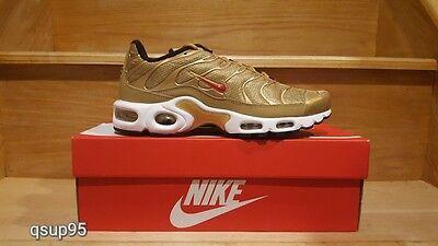 Nike Air Max Plus TN Metallic Gold 903827-700 GS Womens Mens Size 4Y-13 New