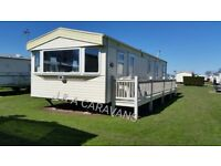 8 berth 3 bedroom to hire/rent located on Waterside Leisure Park Ingolmells B14