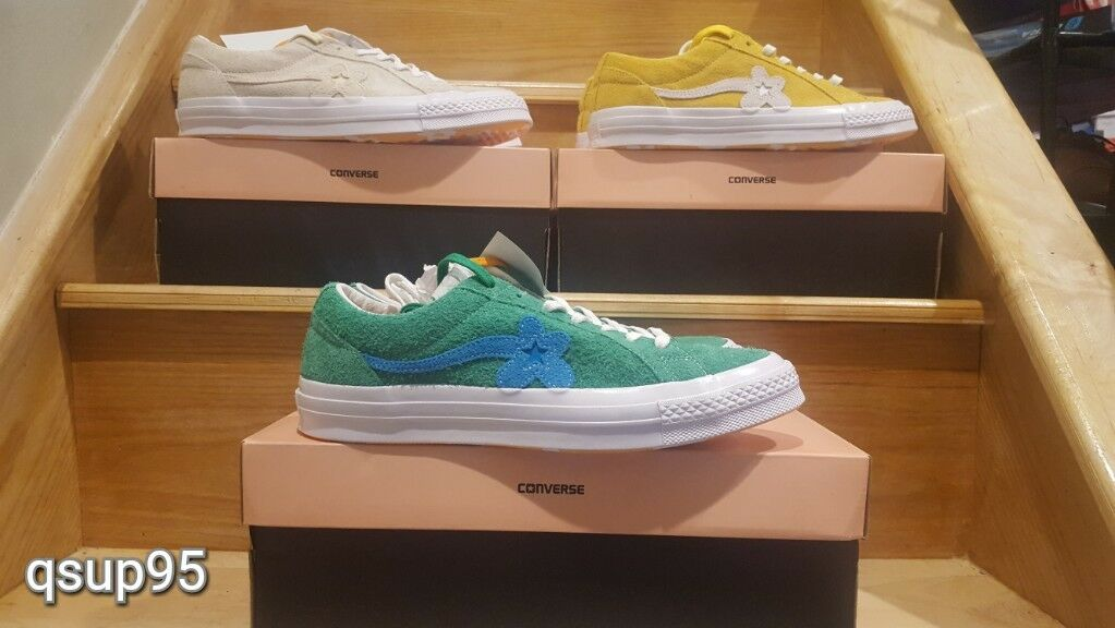 4293.00 грн - CONVERSE OX GOLF LE FLEUR TYLER The CREATOR WANG size 6-12  green vanilla yellow   Спортивная с аукциона eBay   eBuyShop.com.ua 28d4baa988d