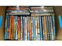 BOX BUNDLE OF CHILDRENS DVDS
