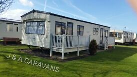 8 berth 3 bedroom to hire/rent located on Waterside Leisure Park Ingoldmells B2