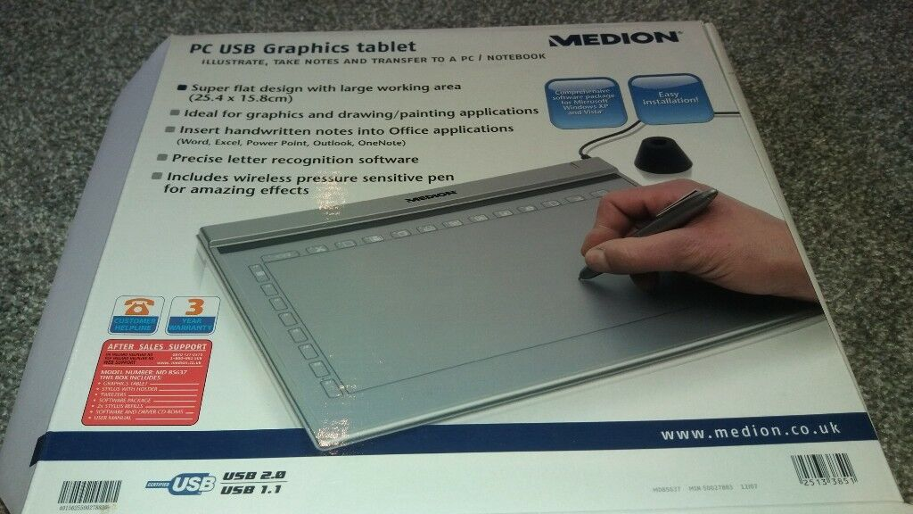 medion graphics tablet driver mac