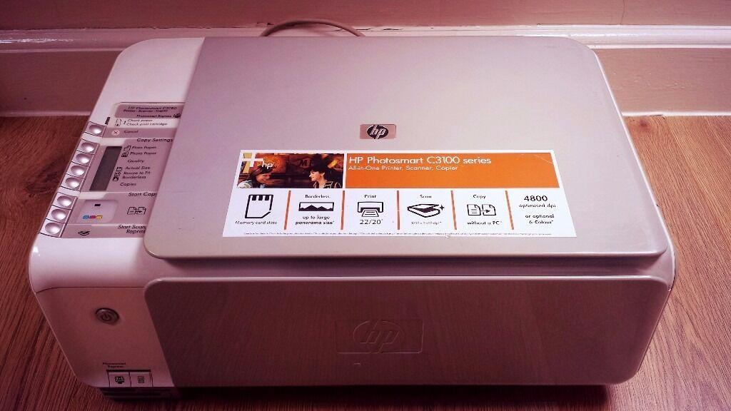 hp photosmart c3100 printer drivers