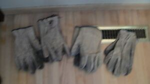 ** Work Gloves,Boots,Coveralls, long Underwear **