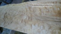 Quilted Highly Figured Big Leaf Maple Slabs
