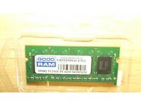 Laptop RAM ddr2 512mb pc4200 533Mhz D64L4/512 sodimm
