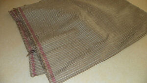 Beige-Gray-Stripe-Print-Chenille-Upholstery-Fabric-Remnant-1-Yard-RU591