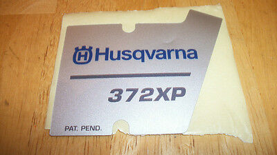 Husqvarna Recoil Starter Decal Fits 372xp Saws 537230201