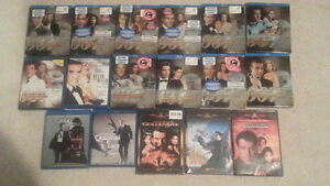 DVD and Blu rays for sale - James Bond & others- Like new