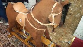 Mama's and Papa's Furry Rocking Horse
