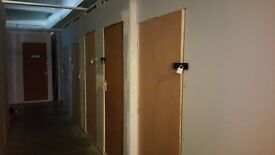 Band lock ups for music equipment storage NO DOMESTIC ITEMS N4 Manor House