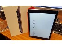 Boxed Apple iPad Air 1 64GB, Wi-Fi -Space Grey MD787B/A + Red Smart Cover