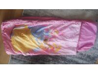 Disney princess blow up sleeping bag