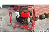 Yanmar diesel engined sludge/water pump. spares/repair