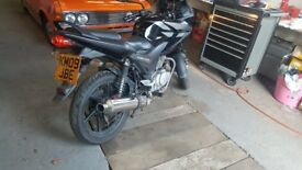 Honda CBF 125 long MOT, perfect working